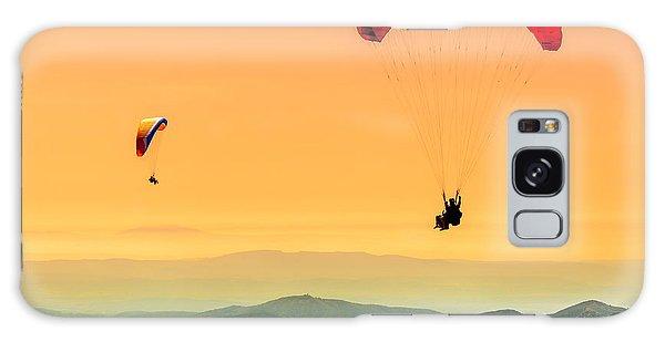 Navigation Galaxy Case - Duo Paragliding Flight by Aurelien Laforet