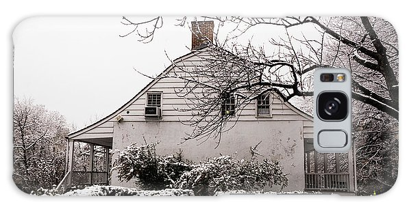Galaxy Case featuring the photograph Dyckman Farmhouse In Winter by Cole Thompson