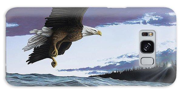 Eagle In Flight Galaxy Case