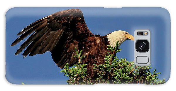 Eagle In Treetop Galaxy Case