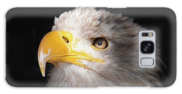 Eagle Portrait Galaxy Case