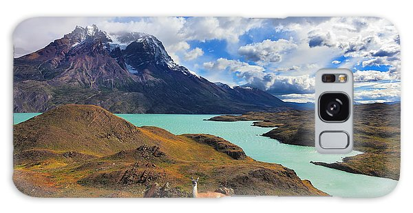 Pasture Galaxy Case - Early Autumn In Patagonia. National by Kavram