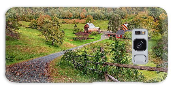 Early Fall At Sleepy Hollow Farm Galaxy Case