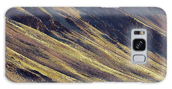 Early Morning Light On The Hillside In Sarchu Galaxy Case