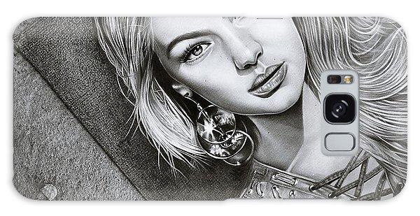 Earring Galaxy Case - Earrings And Girl by ArtMarketJapan