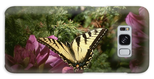 Easter Tiger Swallowtail On Rhododendron Galaxy Case