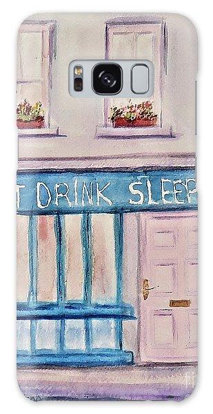 Eat Drink Sleepover Galaxy Case