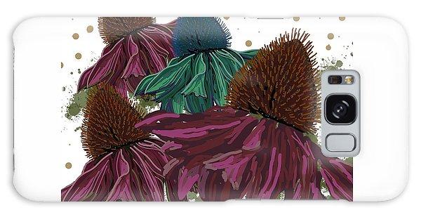Echinacea Flower Skirts Galaxy Case