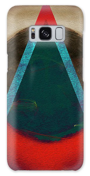 Galaxy Case featuring the digital art Eclipse 2024 by Edmund Nagele