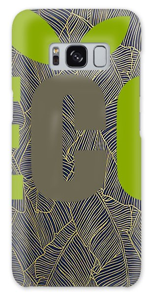 Galaxy Case - Eco Green by Ize Barbosa DIAMOND IS FOREVER