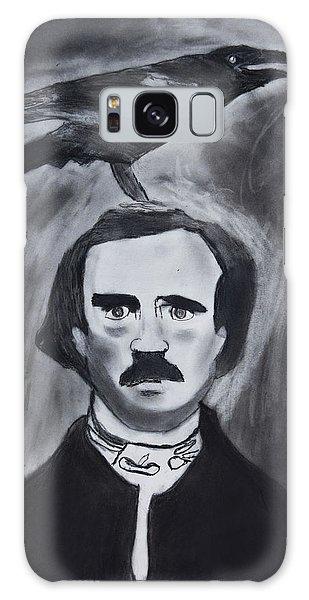Edgar Allen Poe Drawing Galaxy Case