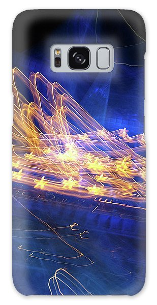 Effiel Tower, Blurred Galaxy Case