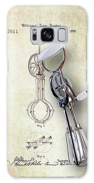 Patent Galaxy Case - Eggbeater With Antique Eggbeater Patent by Tom Mc Nemar