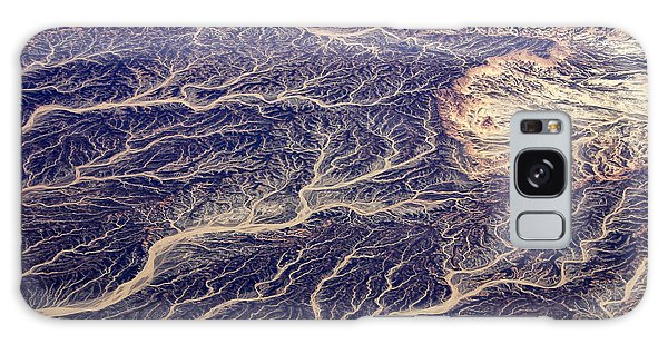 River Galaxy Case - Egyptian Desert - Aerial View by Frank Wasserfuehrer