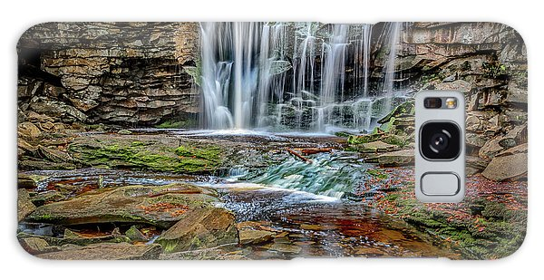 Galaxy Case featuring the photograph Elakala Falls 1020 by Donald Brown