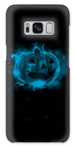 Electric Pumpkin Galaxy Case