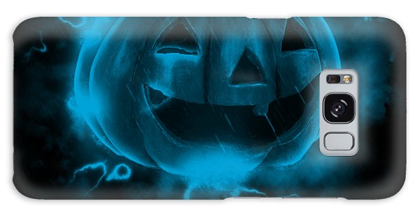 Electric Pumpkin Galaxy Case