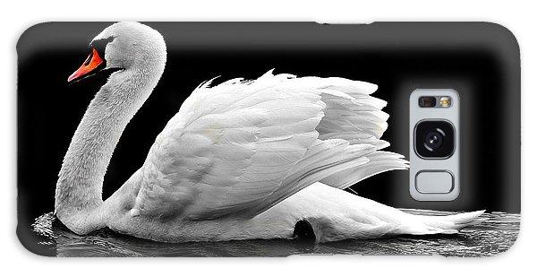 Elegant Swan Galaxy Case