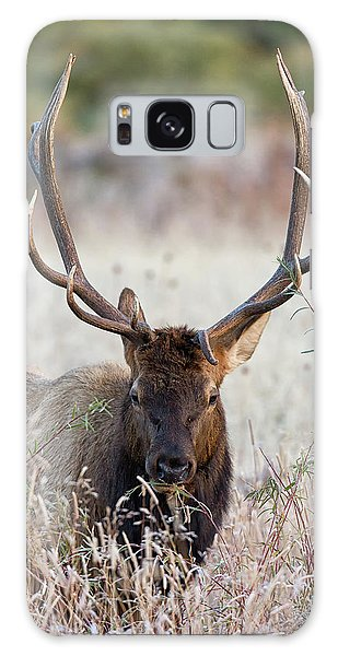 Galaxy Case featuring the photograph Elk Portrait by Nathan Bush