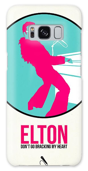Classic Rock Galaxy Case - Elton Poster  by Naxart Studio