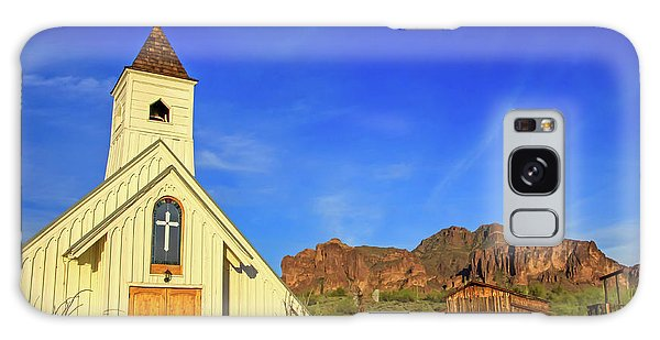 Elvis Chapel At Apacheland, Superstition Mountains Galaxy Case