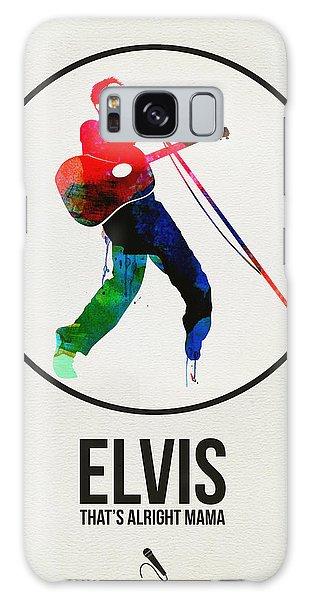 Classic Rock Galaxy Case - Elvis Presley Watercolor by Naxart Studio