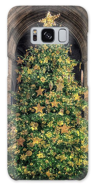 Ely Cathedral Christmas Tree 2018 Galaxy Case