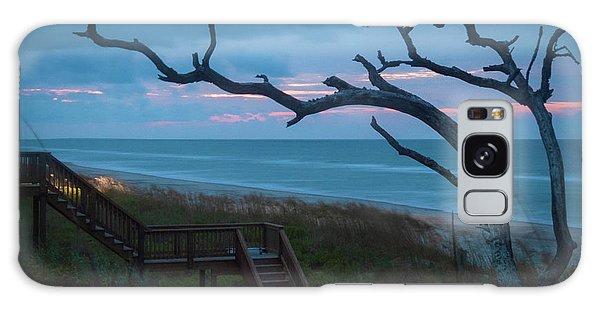 Emerald Isle Obx - Blue Hour - North Carolina Summer Beach Galaxy Case