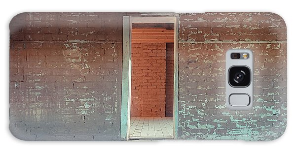 Brick House Galaxy Case - Empty Old Brick House Grafton Ghost Town by Wendy Fielding