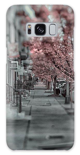 Empty Sidewalk Galaxy Case