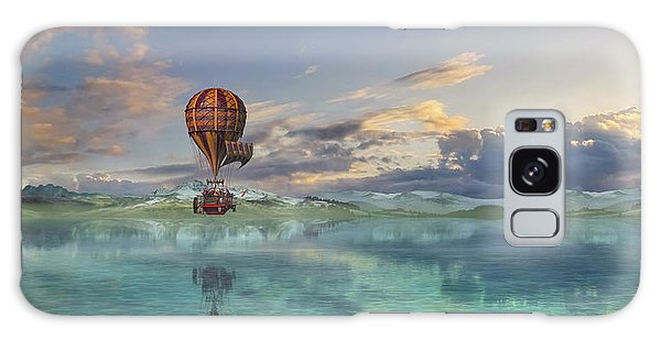 Hot Air Balloons Galaxy Case - Endless Journey by Betsy Knapp
