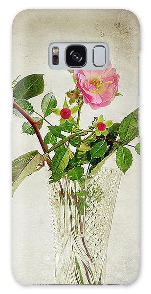 Galaxy Case featuring the digital art English Rose by Edmund Nagele