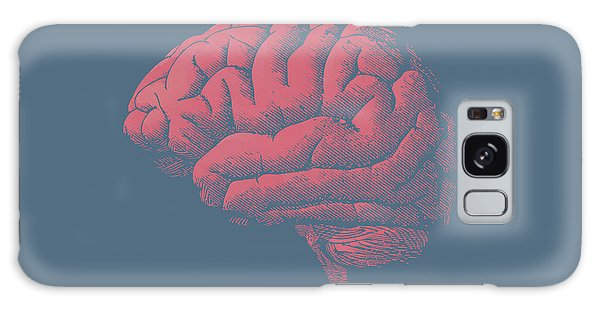 Tint Galaxy Case - Engraving Brain Illustration With Tint by Jolygon