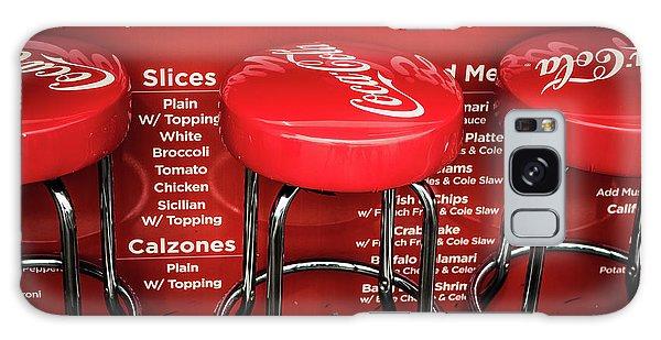 Enjoy Pizza And A Coke Galaxy Case