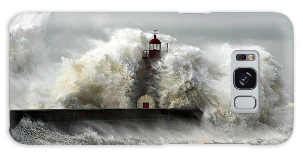 Tide Galaxy Case - Entry Of Douro River Harbor On The by Zacarias Pereira Da Mata
