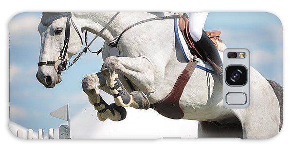 Sportsman Galaxy Case - Equestrian Sports, Horse Jumping, Show by Catwalkphotos