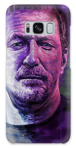 Eric Clapton Galaxy Case - Eric Clapton Portrait by Garth Glazier