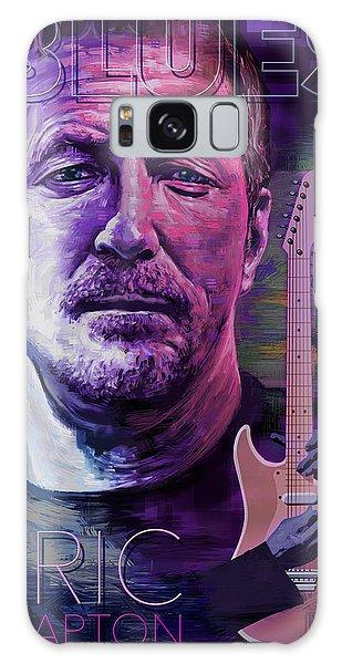 Eric Clapton Galaxy Case - Eric Clapton Poster Art by Garth Glazier