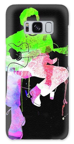 Eric Clapton Galaxy Case - Eric Clapton Stone Watercolor by Naxart Studio