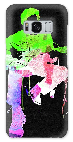 Stone Galaxy Case - Eric Clapton Stone Watercolor by Naxart Studio
