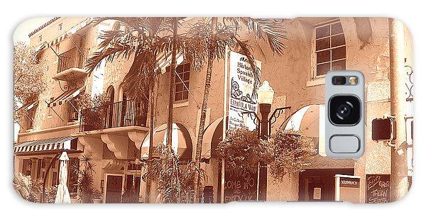 Espanola Way In Miami South Beach Galaxy Case