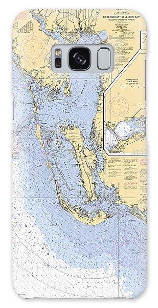 Estero Bay To Lemon Bay, Noaa Chart 11426 Galaxy Case