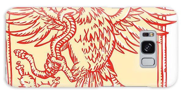 Board Galaxy Case - Etching Engraving Handmade Style by Patrimonio Designs Ltd