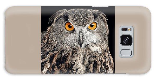 Eurasian Eagle Owl Galaxy Case