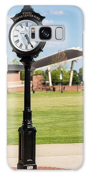 Evans Towne Center Park Clock - Columbia County Ga Galaxy Case