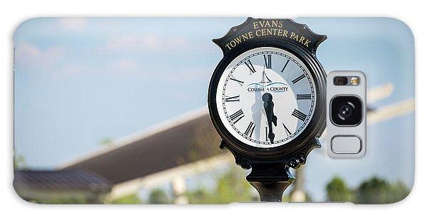 Evans Towne Center Park Clock - Evans Ga Galaxy Case