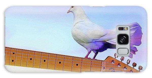 Song Birds Galaxy Case - Even Doves Cry by Mal Bray