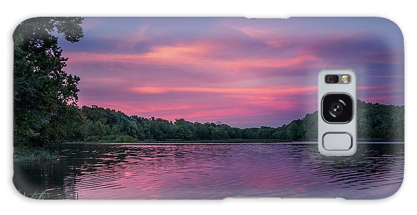 Evening At Springfield Lake Galaxy Case