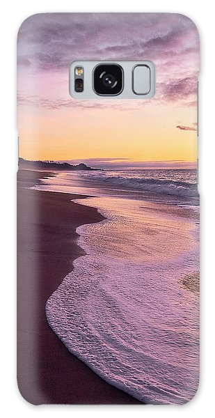 Evening On Gleneden Beach Galaxy Case