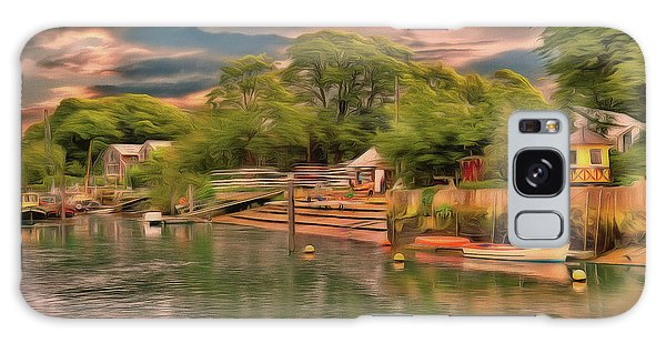 Galaxy Case featuring the photograph Everything That I Love About The River by Leigh Kemp